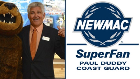 Paul Duddy Named NEWMAC Super Fan of the Month