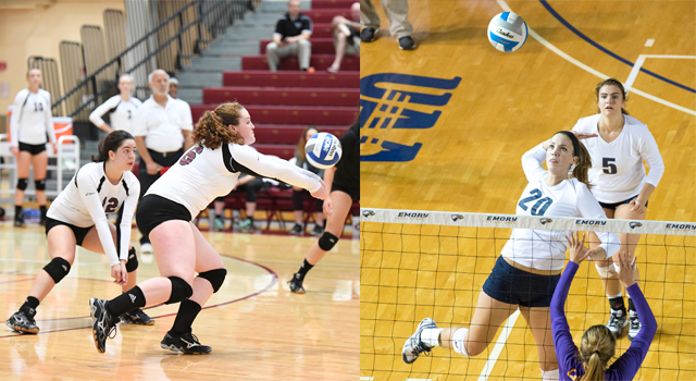 Brandeis Hosting Second Volleyball Round Robin; Emory and Chicago Enter Undefeated in UAA Play