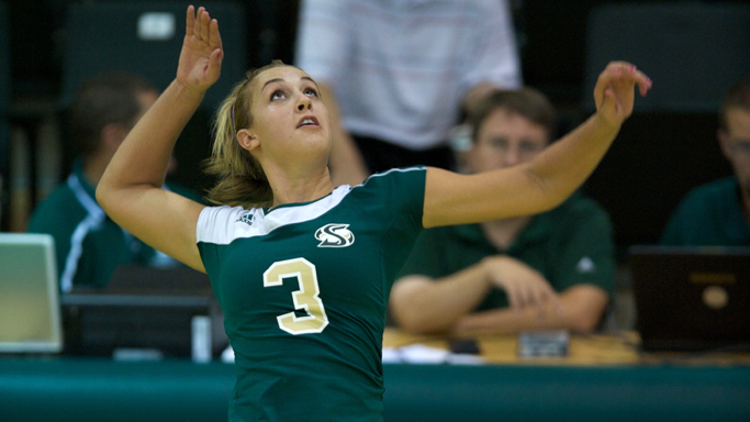 VOLLEYBALL HITS FOR HIGH PERCENTAGE, DEFEATS NORTHERN ARIZONA
