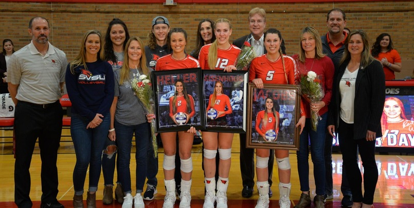 Volleyball Claims Senior Day Success Over Northwood, 3-2