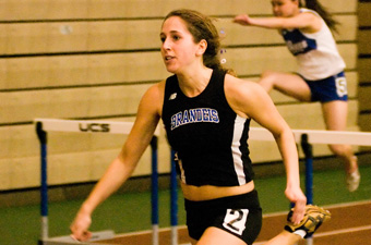 Women's track takes second place at 2009 Poyau Memorial