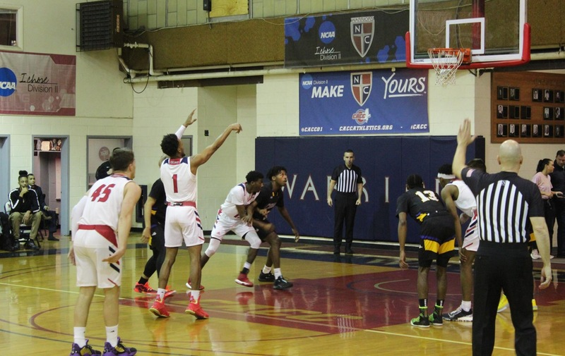 Men's Basketball Lifts Past Bloomfield in Close Game Bringing Them One Step Closer to Playoffs