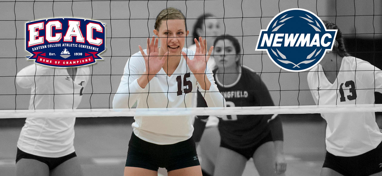 Holt Named NEWMAC and ECAC Women's Volleyball Defensive Athlete of the Week