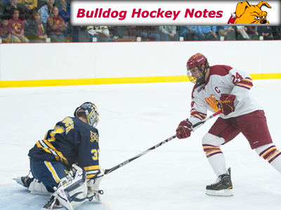 Weekly Notes Games 24-25: #19 Ferris State vs. #7 Michigan
