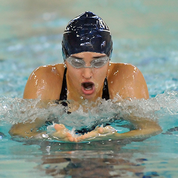 School Records Fall as Swimming & Diving Compete at NEWMACs