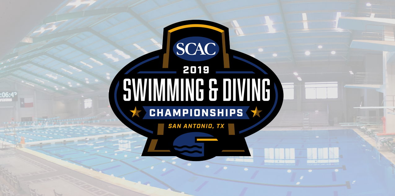 SCAC Swimming & Diving Championship Tickets On Sale