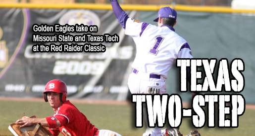 Golden Eagles take on Texas Tech and Missouri at Red Raider Classic