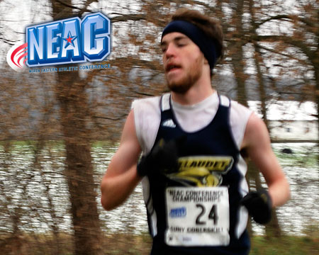 GU men's cross country finishes 10th at NEAC championships