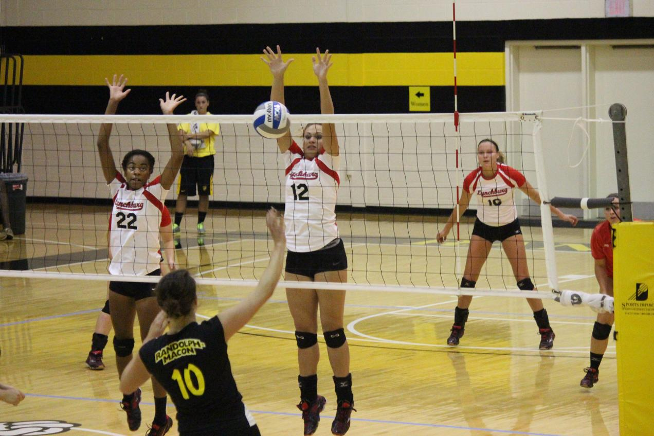 RMC Defeats LC Volleyball in Three