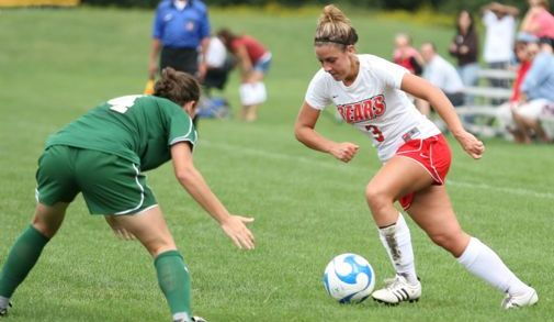 Women's Soccer Battles to 2-2 Tie with Babson College