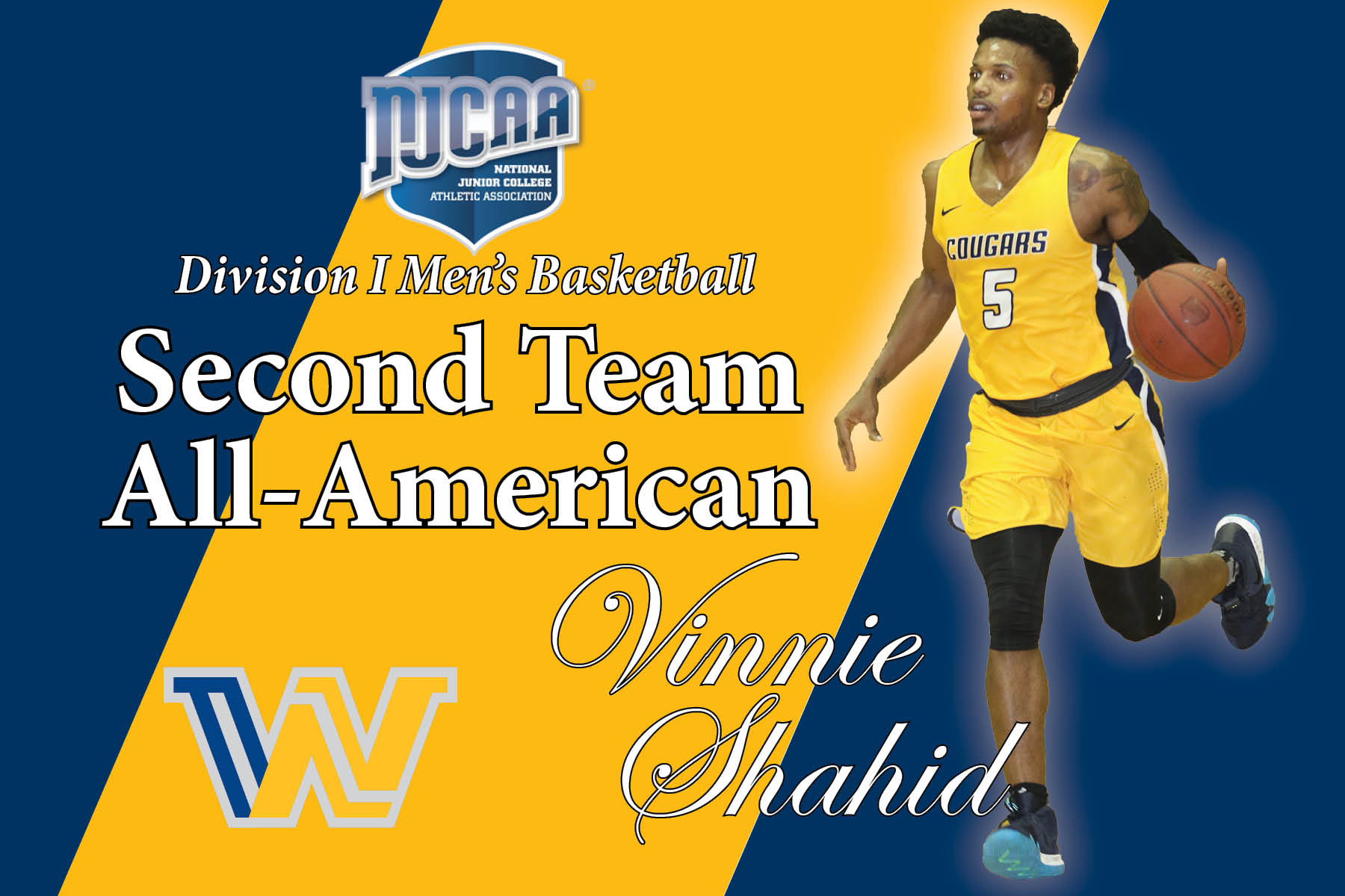 WNCC's Shahid earns NJCAA 2nd team All-American honor