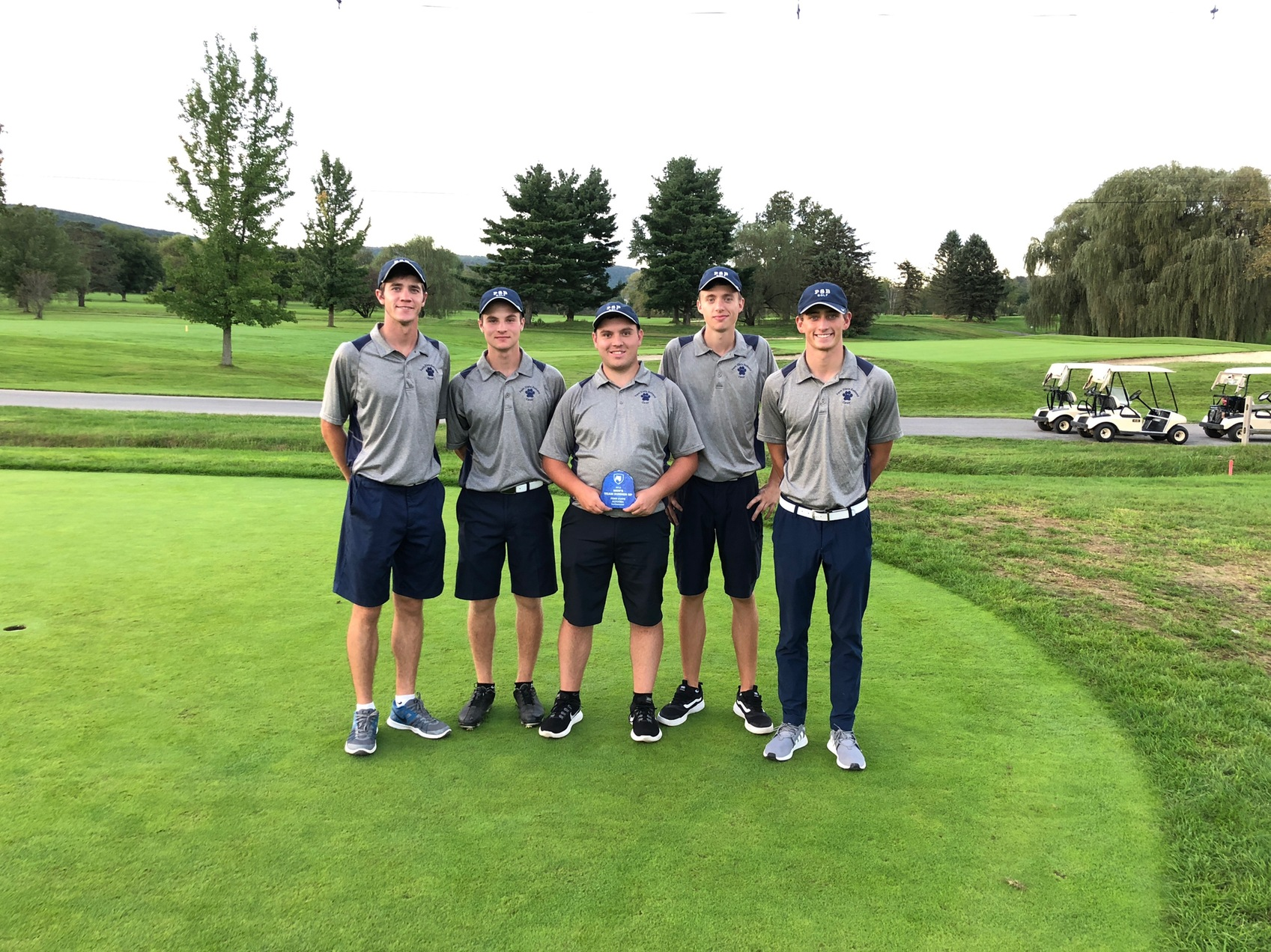 Golfers Take Second at Altoona Invitational