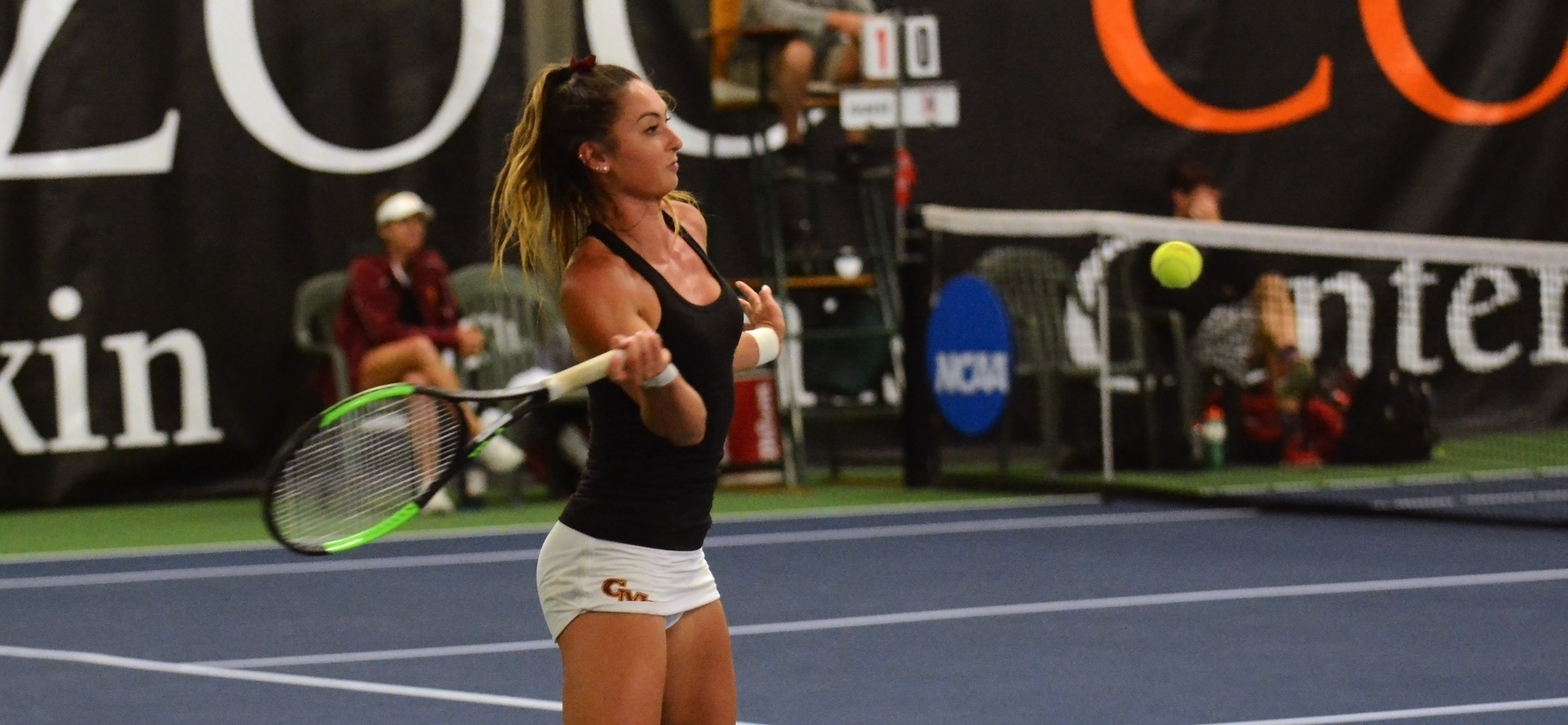 Allen Reaches NCAA Quarterfinals in Singles and Doubles, Both Women's Tennis Doubles Teams Advance