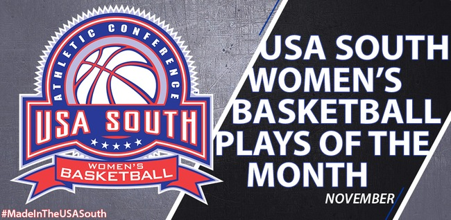 Bishop Women have two clips featured on USA South Plays of the Month