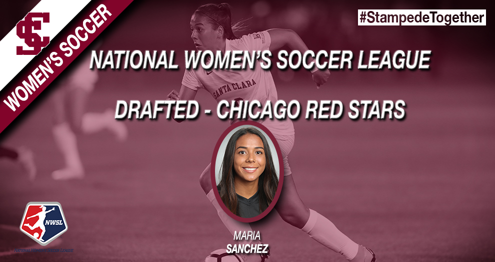 Maria Sanchez Taken in National Women's Soccer League Draft
