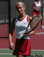 Women's Tennis Concludes Regular Season with Victory