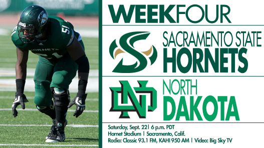 Football Begins Big Sky Play Agianst North Dakota on Saturday Night