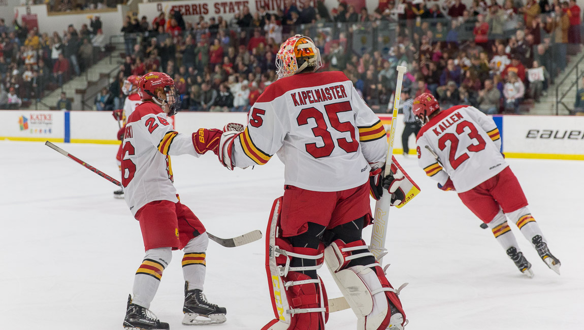 Ferris State Hockey Controls Play & Opens Important League Home Series With Victory