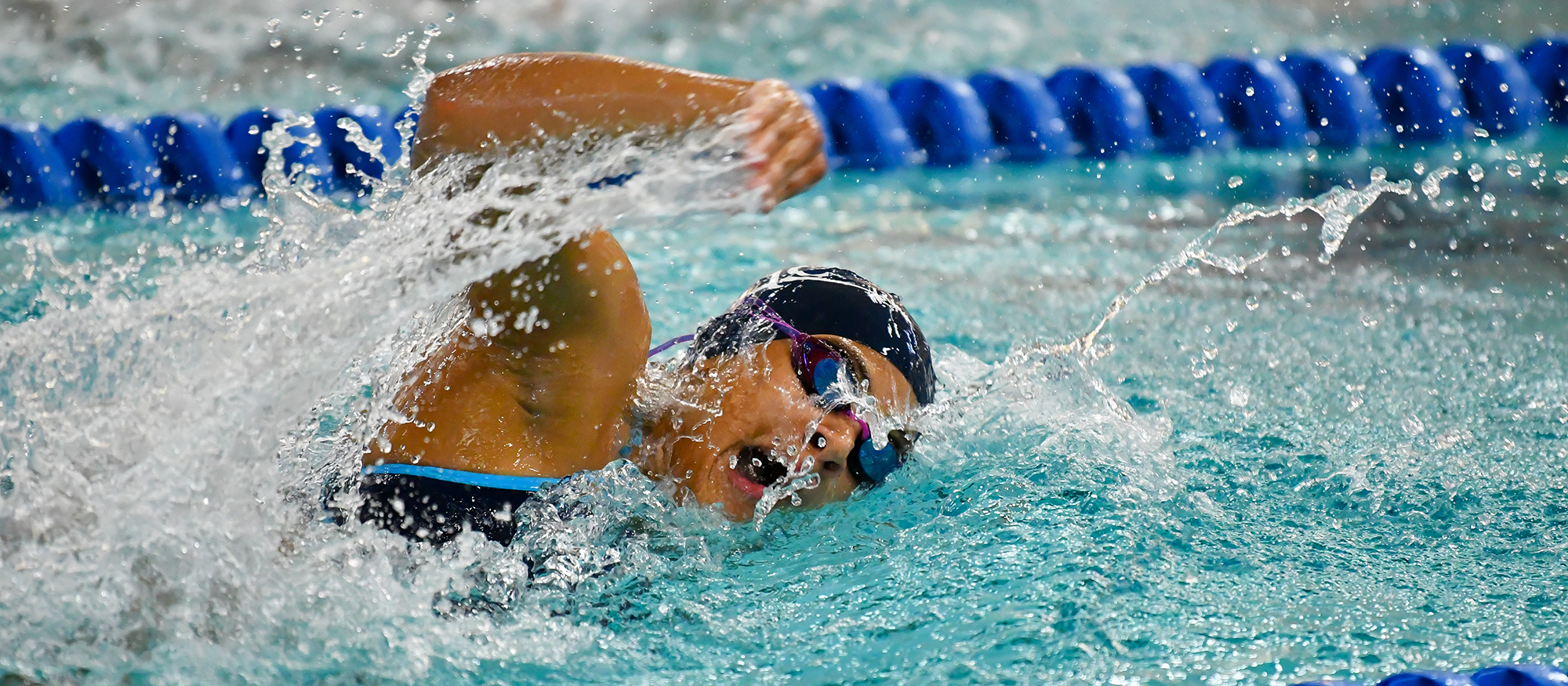 Swimming and Diving Finishes Ninth Overall at 2020 NEWMAC Championships