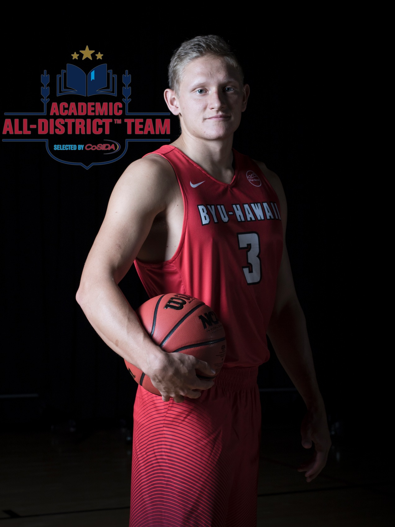 Nelson named academic all-district