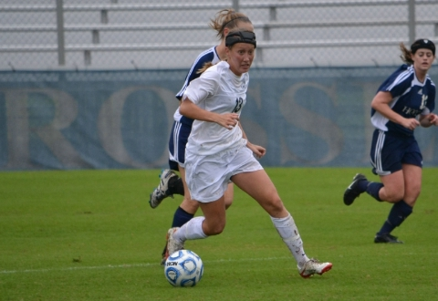UMW Women's Soccer Falls in Closing Minutes at Salisbury in CAC Tourney Semifinals, 3-2