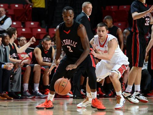 Cardinals Play Well Early Before Hot-Shooting Maryland Cruises to Victory