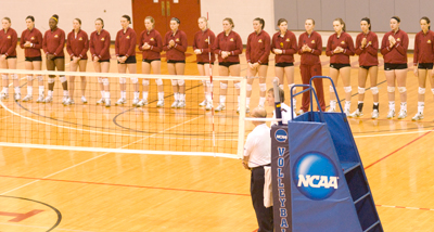 Pre-match introductions (Photo by Joe Gorby)