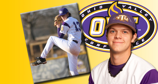 Archer garners honors as OVC Pitcher of the Week
