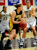 Connolly and Liston Lead Women's Basketball Past John Jay