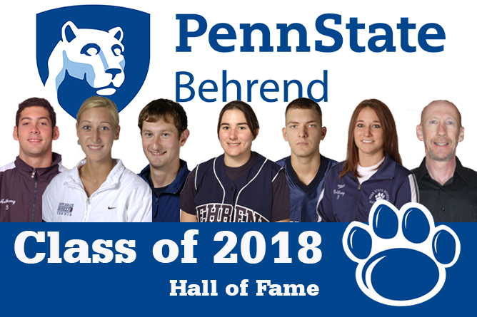 Behrend Hall of Fame Class of 2018 Announced