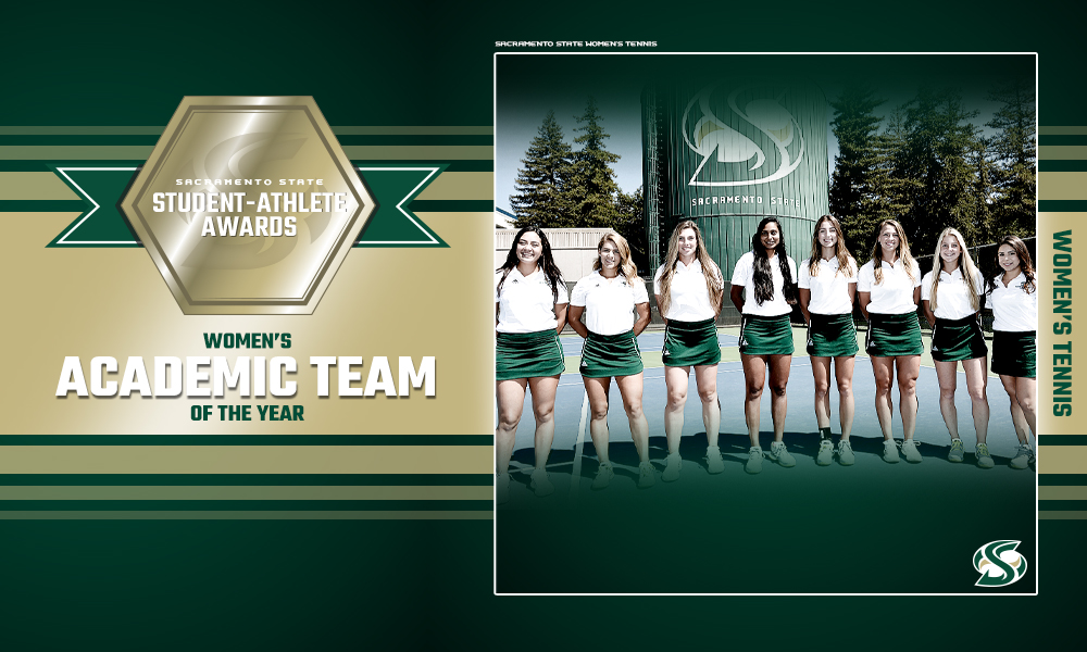 WOMEN'S TENNIS NAMED SACRAMENTO STATE'S WOMEN'S ACADEMIC TEAM OF THE YEAR