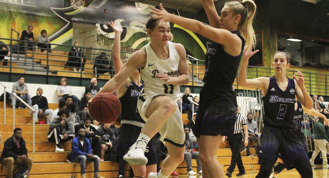 Hot-Shooting Panthers Take Down Dragons