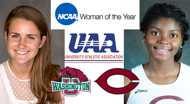 Alison Lindsay of Washington University and Ade Ayoola of University of Chicago Selected as UAA NCAA Woman of the Year Representatives