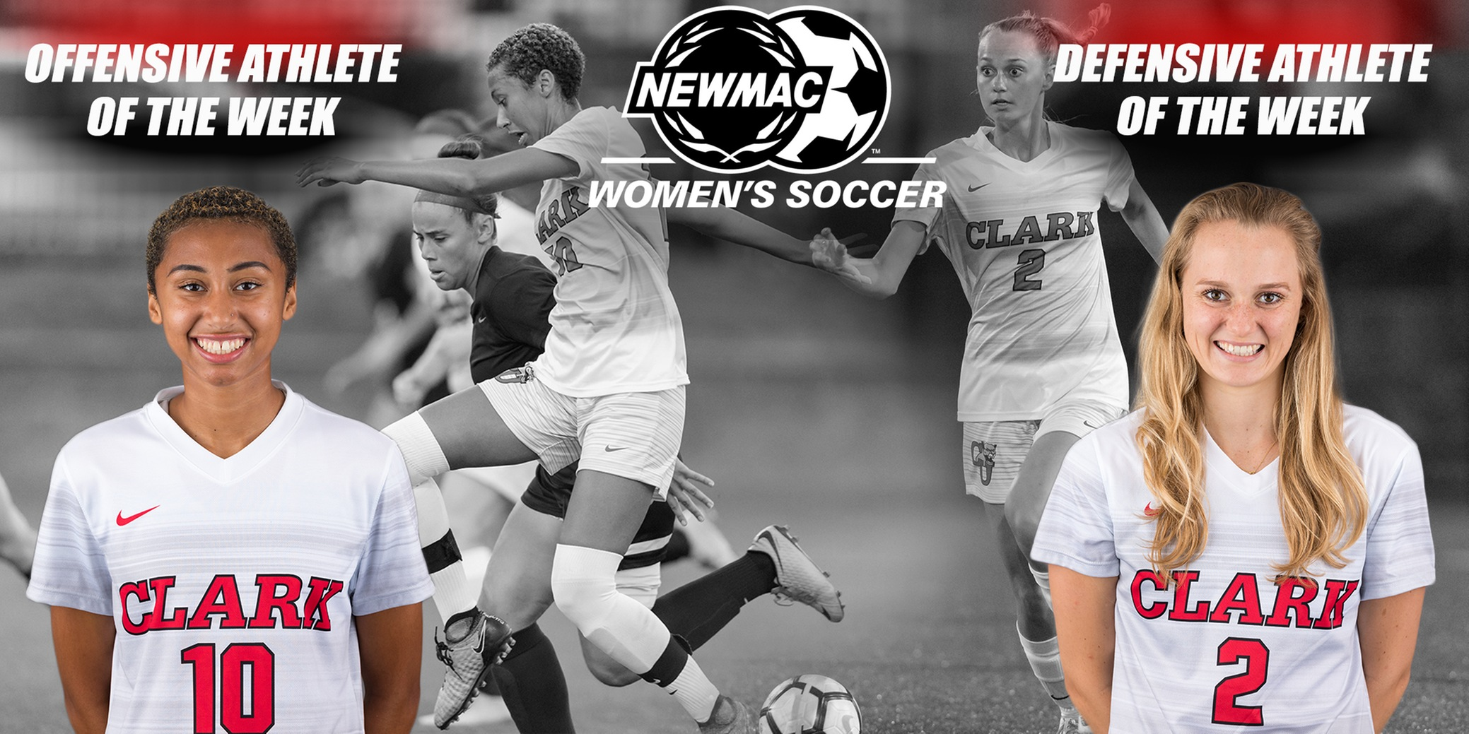Kaloustian and Simons Sweep NEWMAC Women's Soccer Weekly Awards