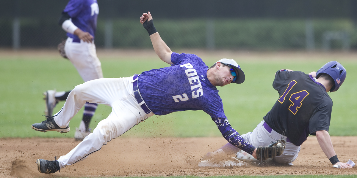 Baseball comes away with split against George Fox