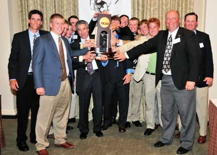 Men's Golf Receives 2009 National Championship Rings in Ceremony at East Lake