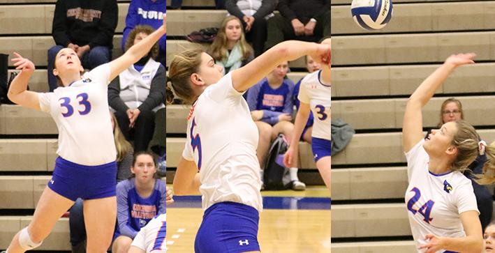Trio of Falcons recognized in NACC postseason awards