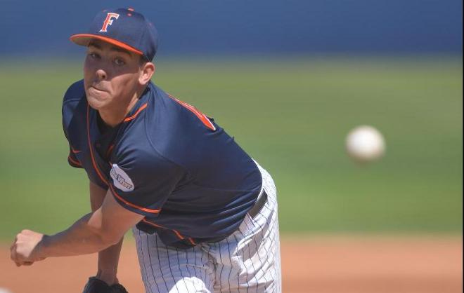 Blaser Drives in Four, Gavin Sets Career High in Win over Aztecs