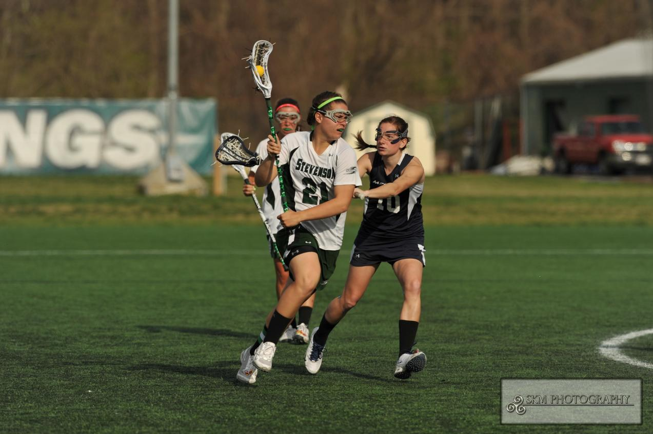 Leah Warner Leads Mustangs to a 17-6 Victory Over Goucher