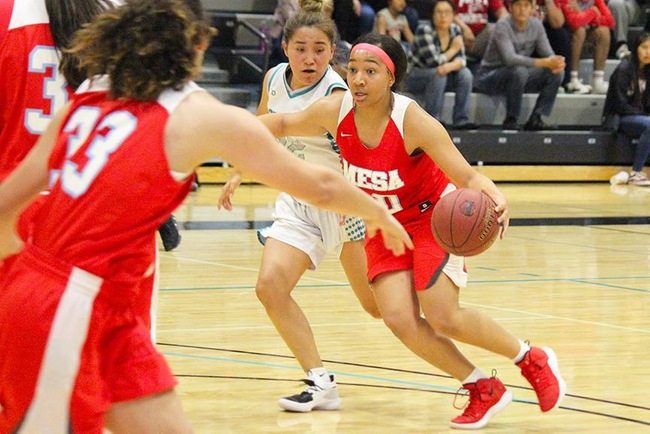 Women's Basketball Avenge Earlier Season Loss to Chandler-Gilbert, Win 67-56