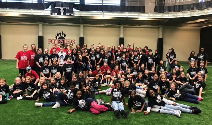 Lake Forest College Leads National Girls and Women In Sports Day