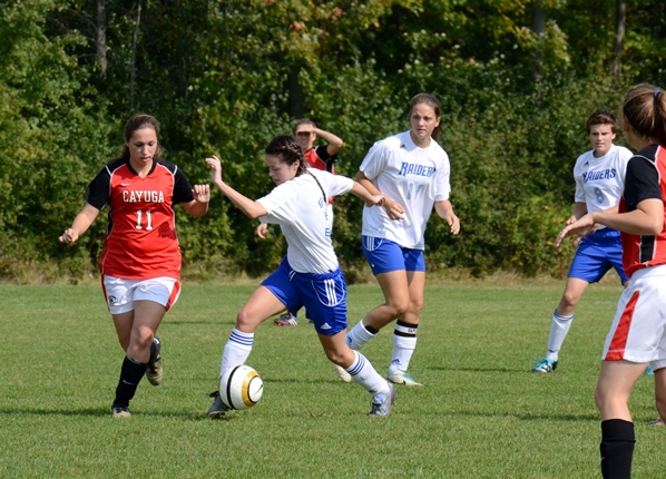 Lady Raiders shut out Spartans