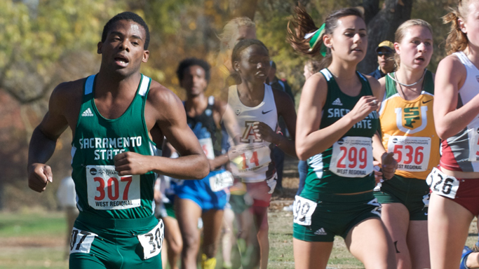 BYERS, MITCHELL PACE CROSS COUNTRY AT NCAA WEST REGIONAL