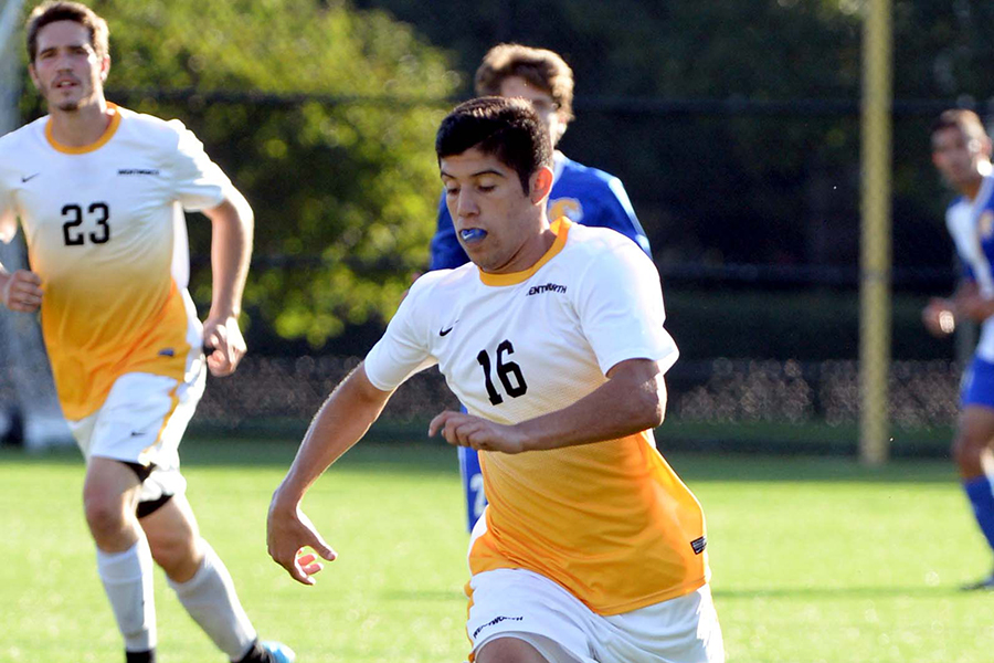 Men's Soccer Opens CCC Play With Tie