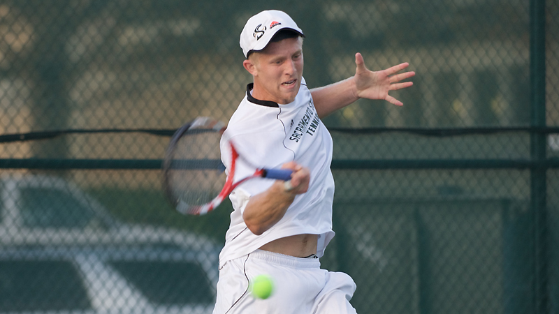MEN'S TENNIS GOES DOWN TO THE WIRE BEFORE FALLING TO NEVADA, 4-3
