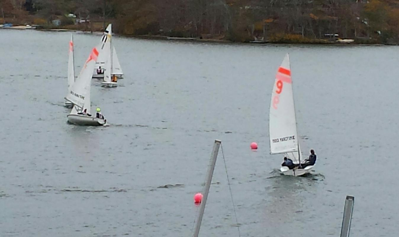 Dinghy Sailing Uses Come-From-Behind Effort To Take Top Honors In New England Fall Invitational