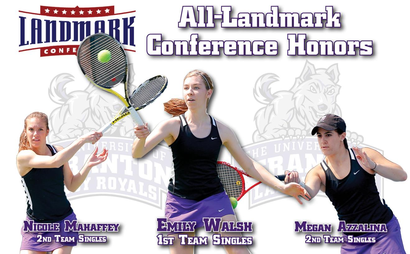 Walsh Earns First-Team All-Landmark Honors; Azzalina, Mahaffey Named Second Team