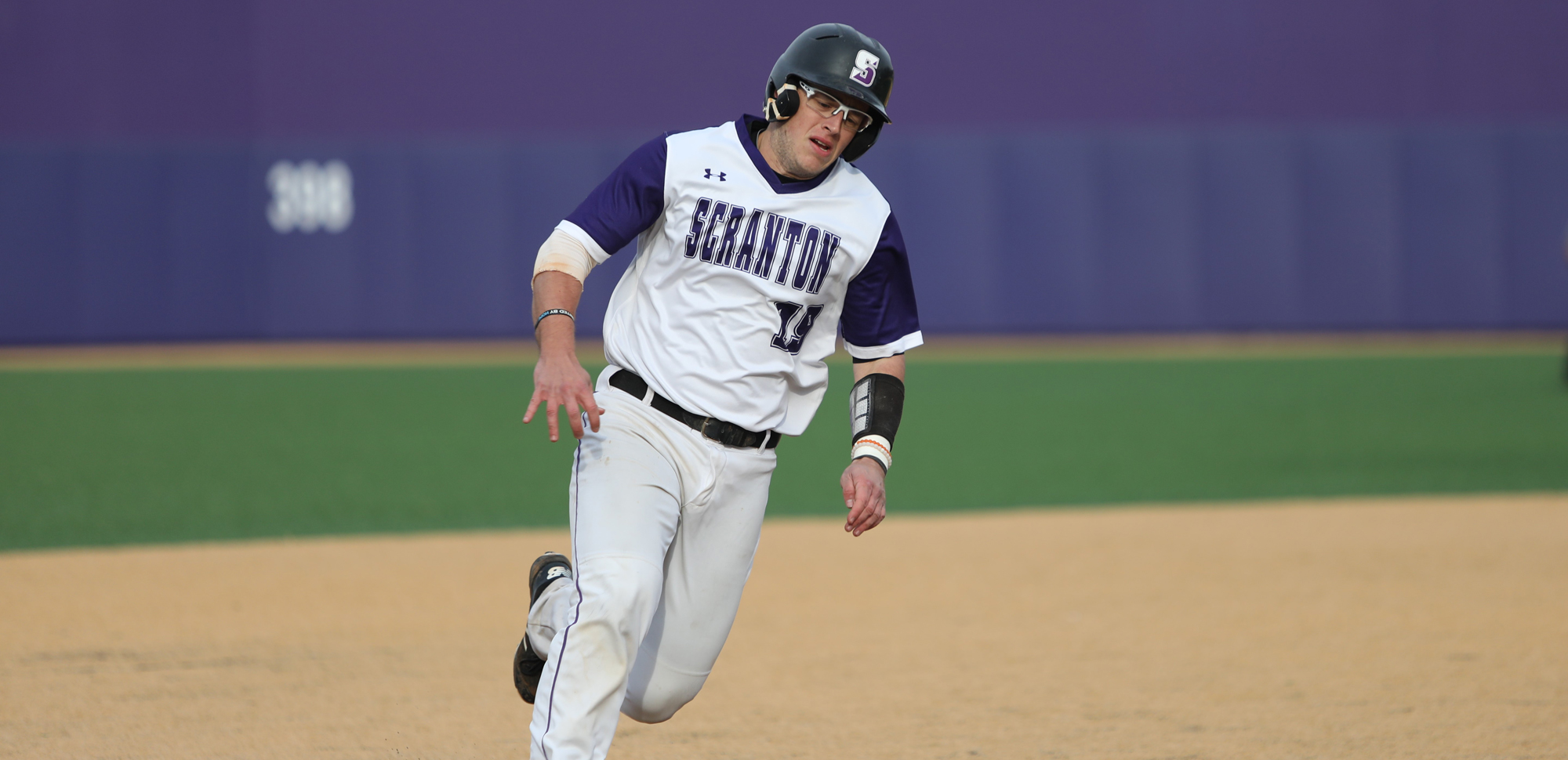 Junior Kevin Haag went 3-for-5 with two doubles and two RBI in Scranton's game one win over Catholic on Saturday. © Photo by Timothy R. Dougherty / doubleeaglephotography.com