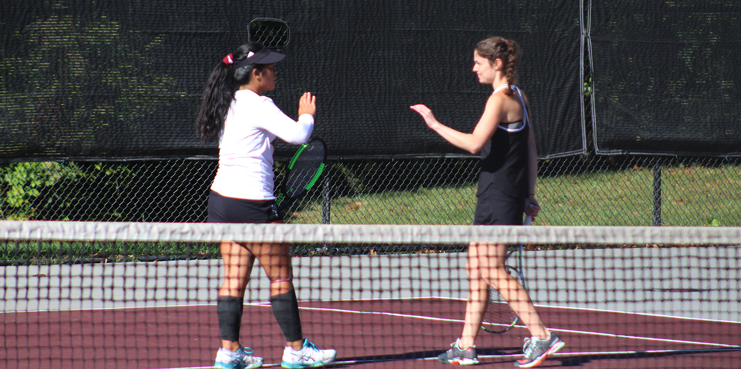Women's Tennis Advances to CACC Semifinals with Comeback Win Over Jefferson