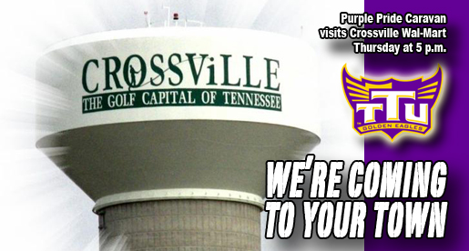 Cumberland County: Purple Pride Caravan stops at Crossville Wal-Mart Thursday
